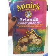 Annie39s Homegrown Friends Bunny Grahams Honey Chocolate