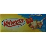 Velveeta Velveeta 2% Milk: Calories Nutrition Analysis ...