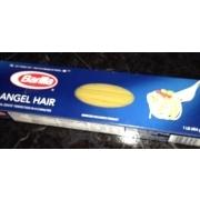 barilla pasta angel hair calories