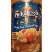 Progresso Traditional Chicken Noodle 99 Fat Free