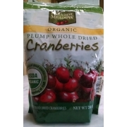 Paradise Meadow Organic Plump Whole Dried Cranberries
