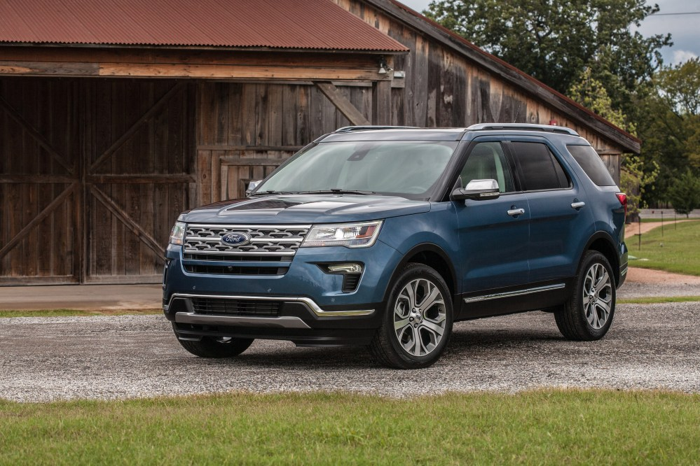 medium resolution of 2019 ford explorer limited luxury edition