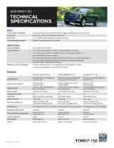 Ford F 150 Ecoboost 0 60 : ecoboost, F-150, Technical, Specs
