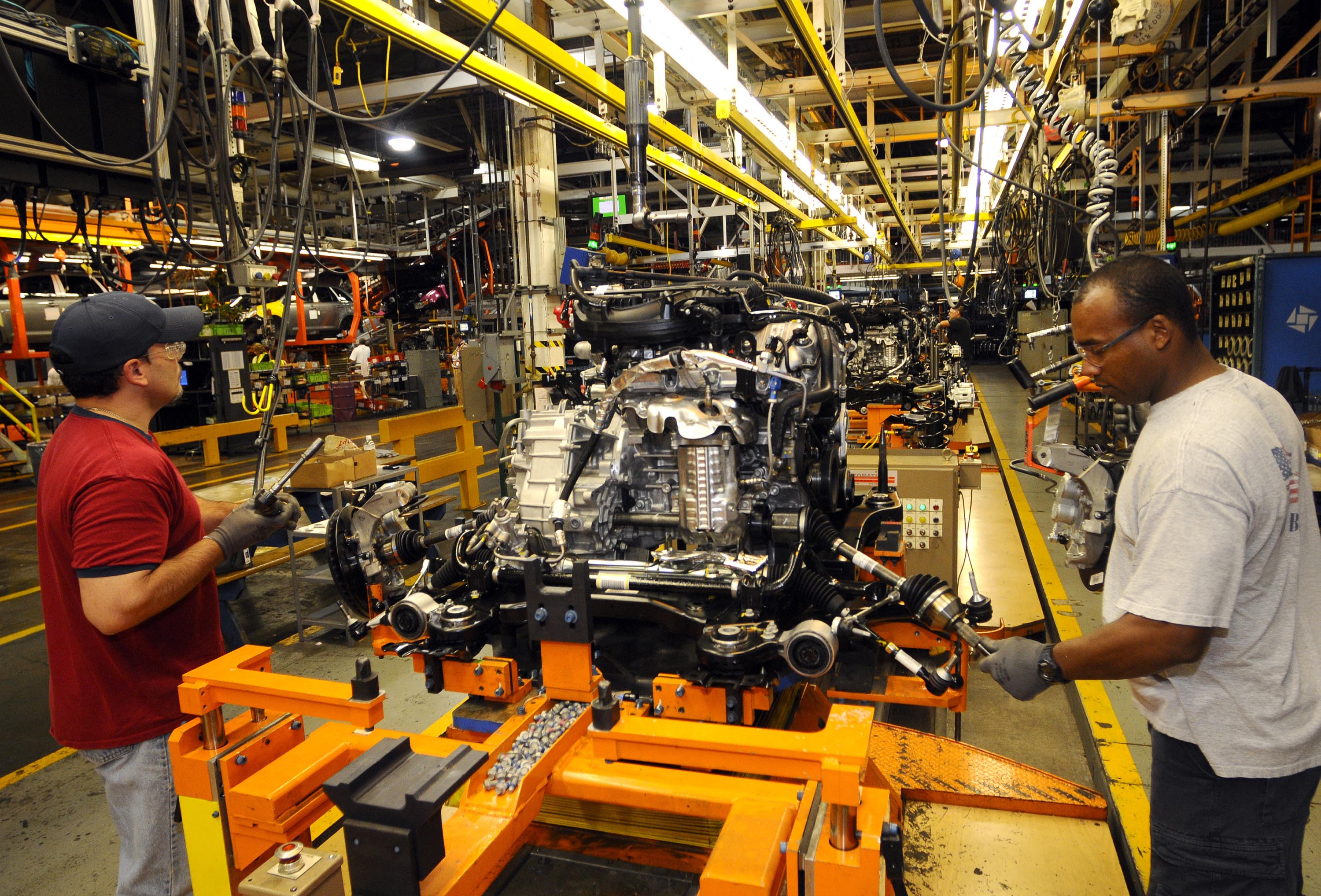 Celebrating the Moving Assembly Line in Pictures  Ford