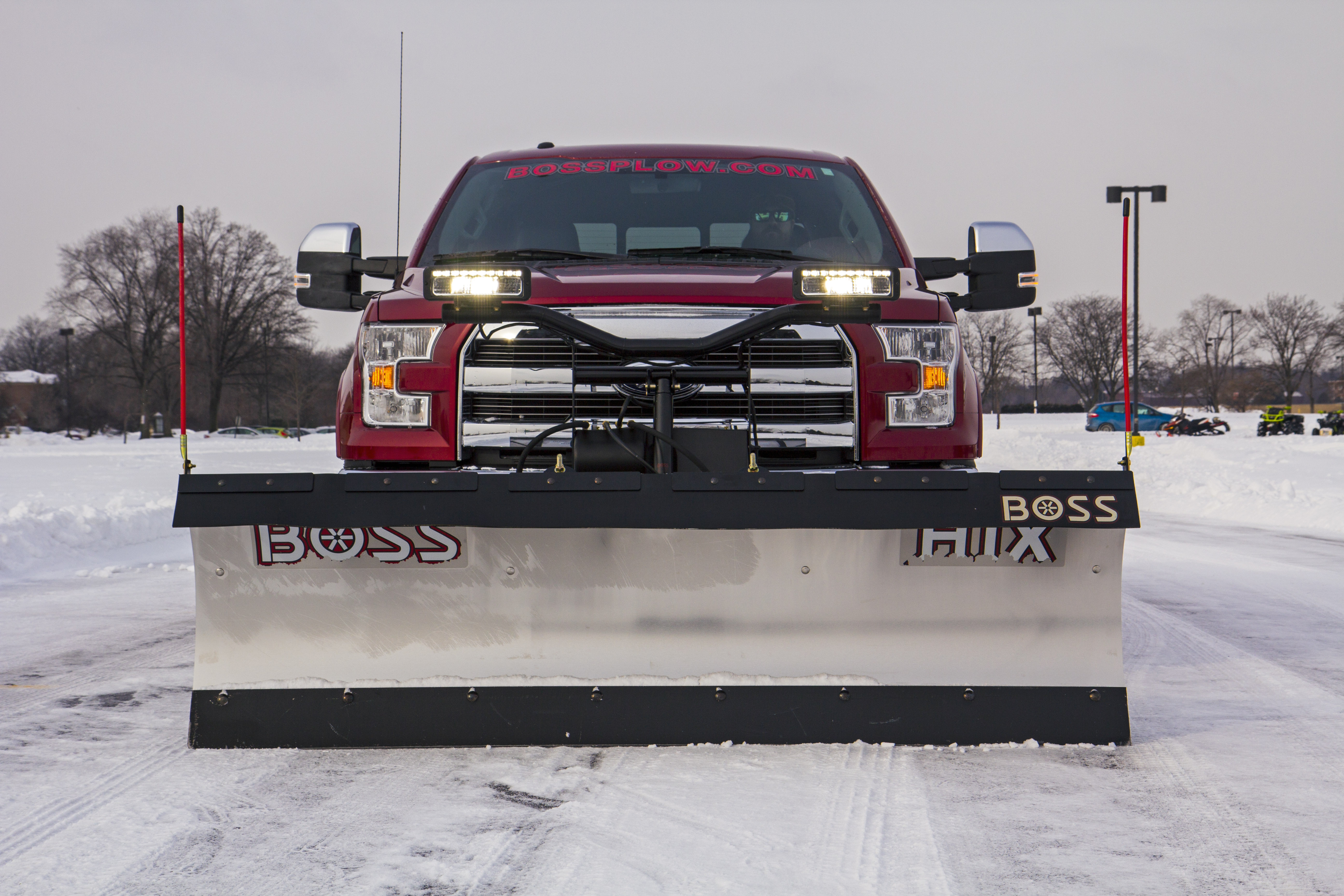 boss snow plows simple race car wiring diagram all new 2015 ford f 150 debuts with plow option