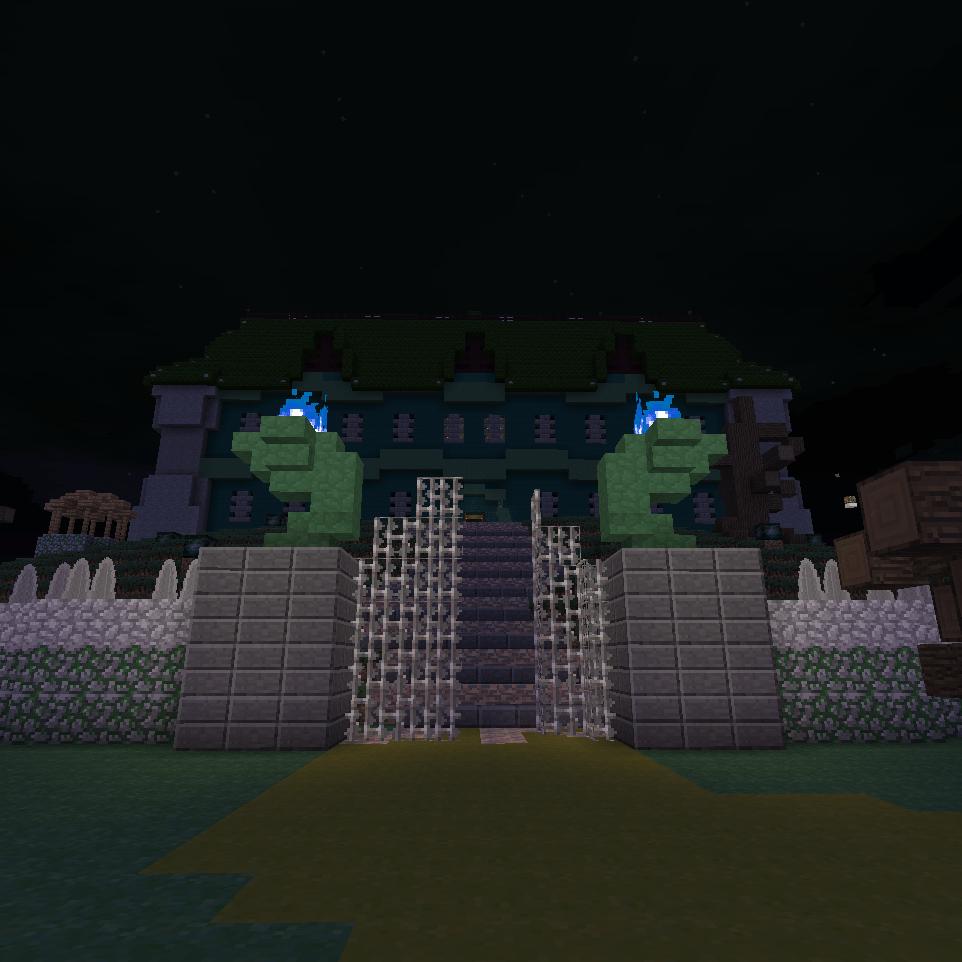Mansion Map Luigis Adventure Minecraft