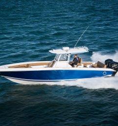38cc ls speed offshore fishing boat [ 1500 x 1000 Pixel ]
