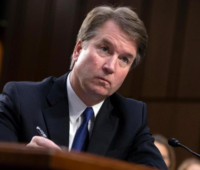 Senators Grill Kavanaugh On His Cases During Confirmation Hearing