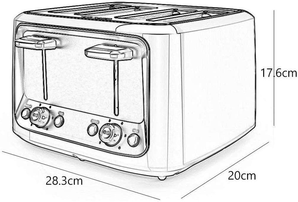 LQUIDE Bread Machine Breakfast,Automatic Bread Maker