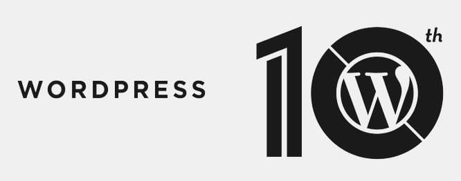 10 jaar WordPress: mijlpaal in de geschiedenis van een