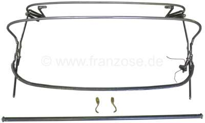 Hood linkage completely. Suitable for Citroen 11CV Cabrio.