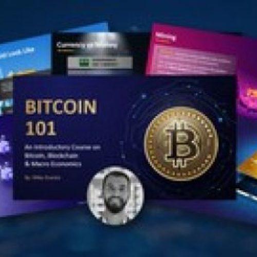 Bitcoin 101 – Complete Intro to Bitcoin, Blockchain & Crypto