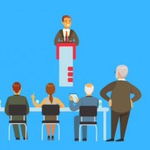 First Steps Into Public Speaking