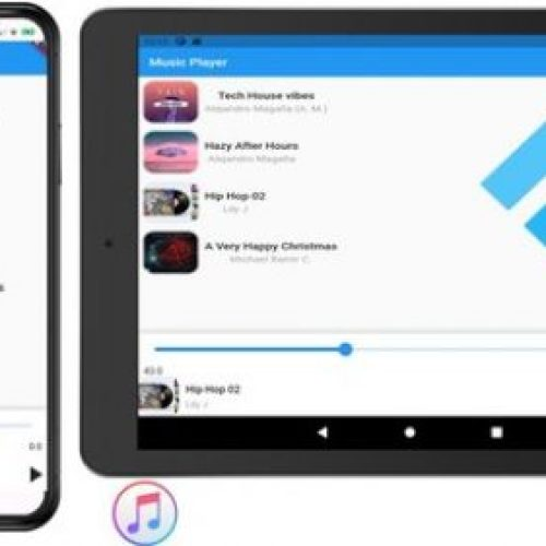 Flutter Music Player App with State Management from Scratch