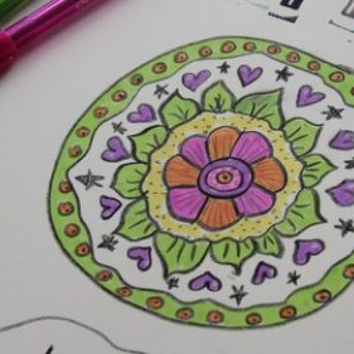 Freestyle Mandalas to Find Your Inner Child and Relax