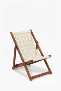 Acacia Macrame Folding Chair | Collection | French Connection
