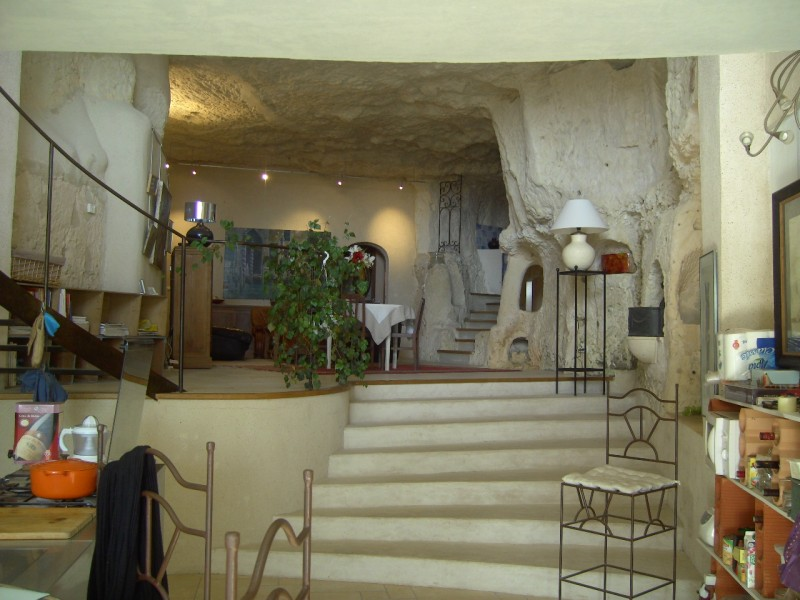 Maison  vendre en Centre  Loir et Cher MONTOIRE SUR LE LOIR Unique habitation troglodyte de
