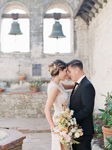 Timeless Wedding at a Spanish Mission