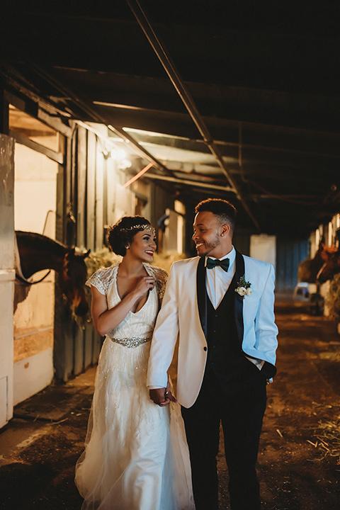 Art Deco Great Gatsby Wedding  Friar Tux