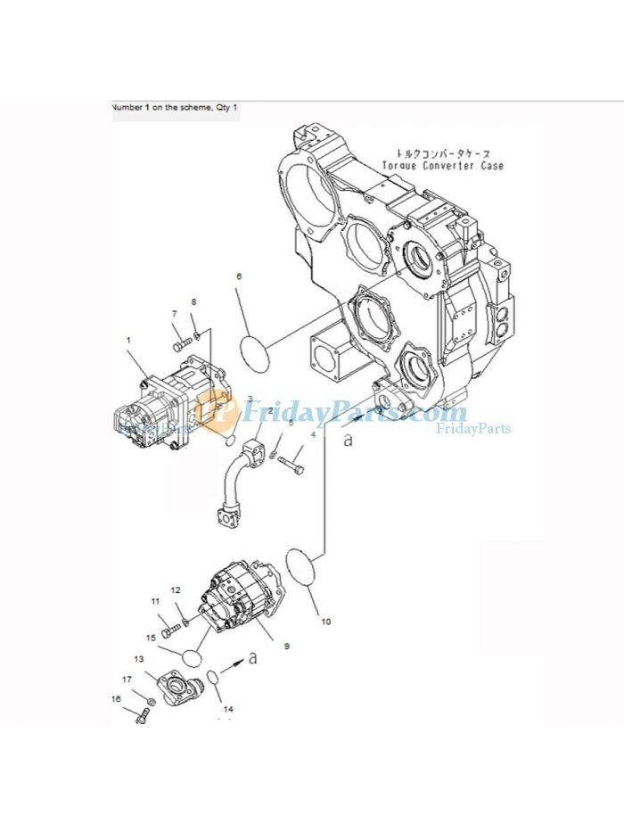 buy For Komatsu Bulldozer D85MS-15 D85EX-15 D85PX-15E0