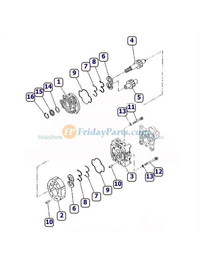 buy For Komatsu Wheel Loader WA470-3 WA470-DZ-3 Hydraulic