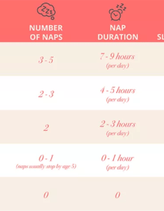 Newborn sleep schedule chart also made simple rh thebump