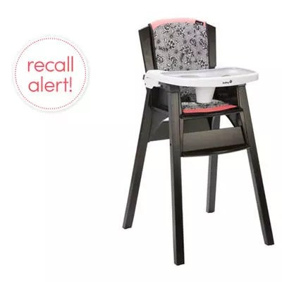 safety 1st high chair recall kids saucer recalls decor wood chairs