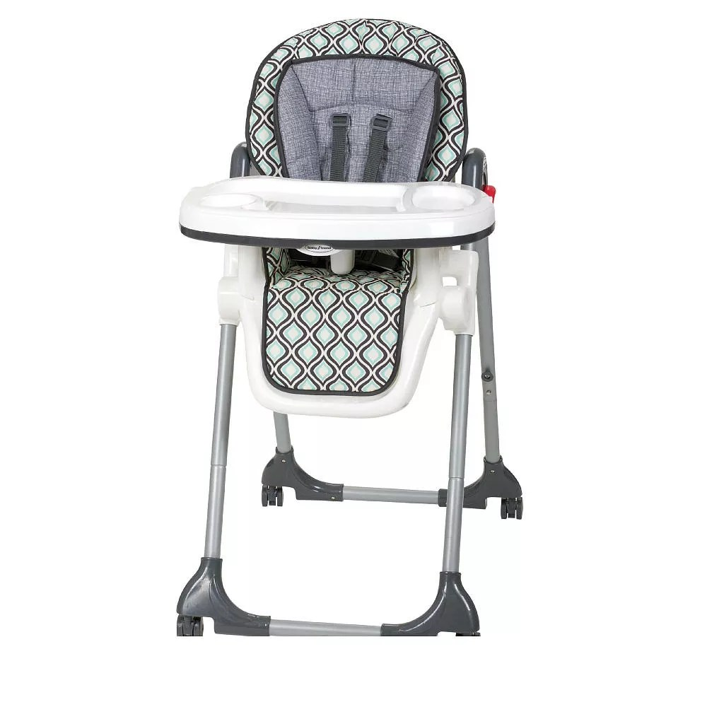 pottery barn child chair covers posture monitoring baby trend tempo high - catalina ice from the bump registry catalog