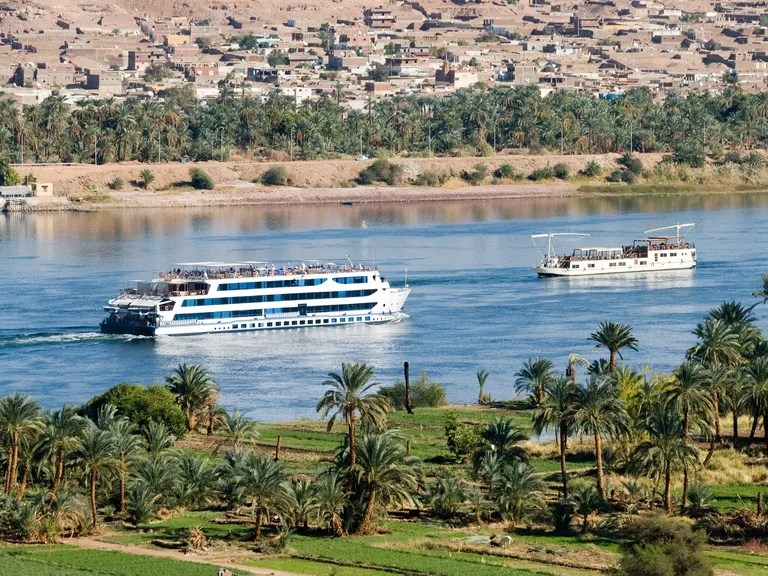 Nile river cruise ship