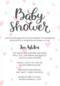 Baby Shower Gift Registry Invitation Wording | PaperInvite