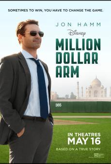 مشاهدة وتحميل فلم Million Dollar Arm ذراع بمليون دولار أمريكي اونلاين