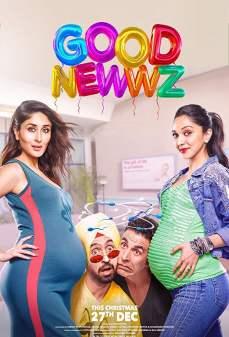 مشاهدة وتحميل فلم Good Newwz أخبار طيبة اونلاين