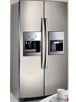 Whirlpool Espresso il frigorifero con macchina del caff