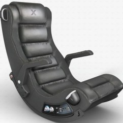 Console Gaming Chair Bergere For Sale Ces 2008: Poltrona Con Diffusori 4.1 Ace Bayou X Rocker