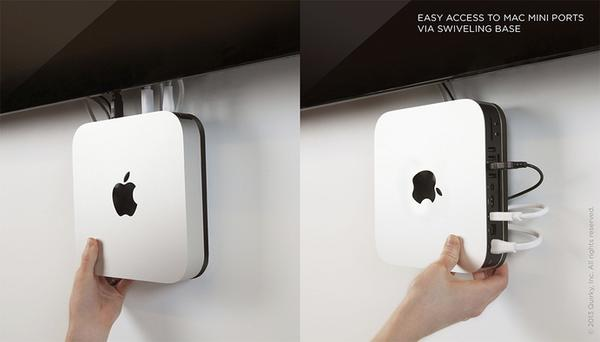 OneEighty Mac Mini Wall Mount  Gadgetsin