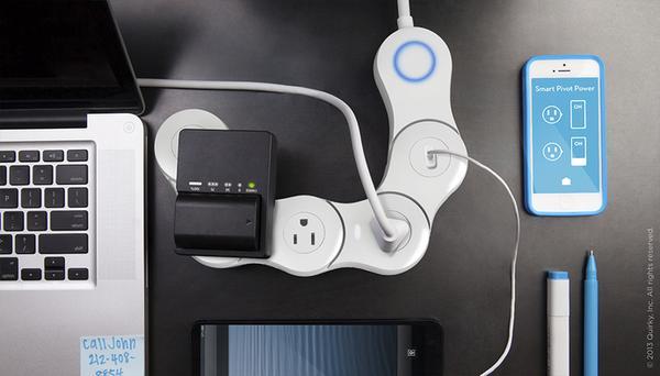 Pivot Power Genius App Enabled Power Strip  Gadgetsin
