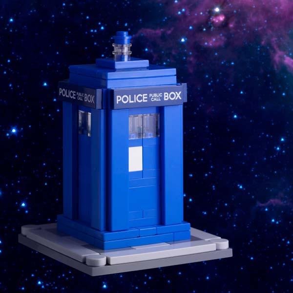 Iphone X Cool Wallpaper Features Doctor Who Tardis Lego Building Kit Gadgetsin