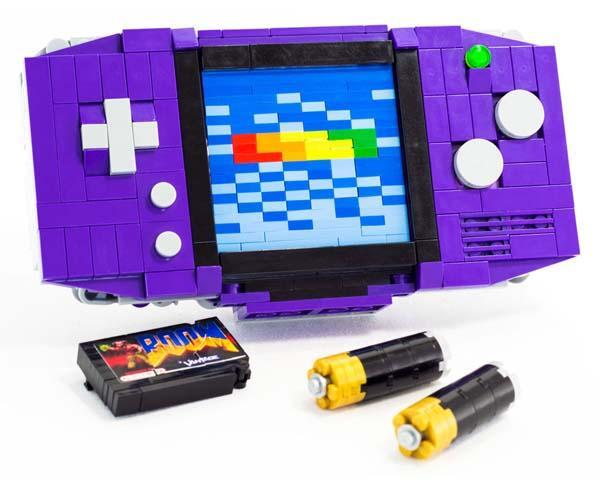 The LEGO Gameboy Advance Look Like Soundwave  Gadgetsin