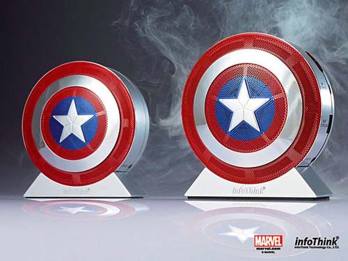 Captain America The Winter Soldier Bluetooth Speaker with