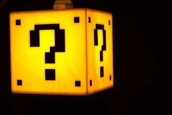 Super Mario Question Mark Block Hanging Lamp  Gadgetsin