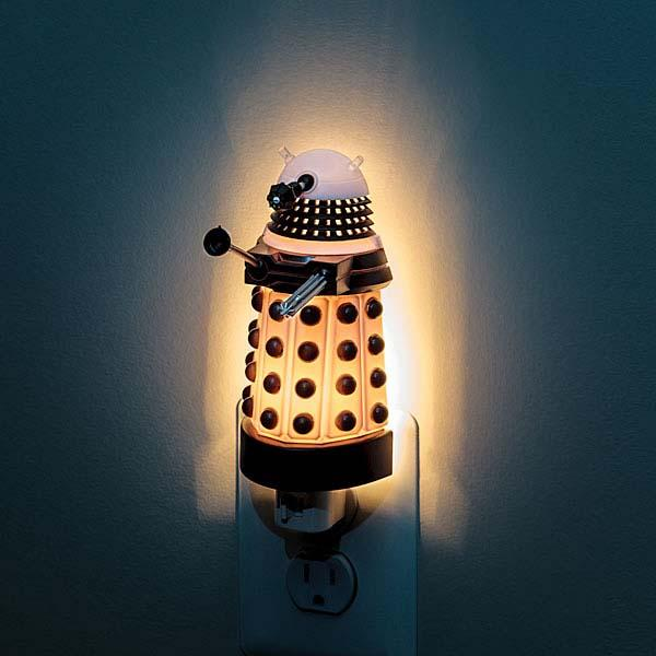 Doctor Who Dalek Night Light  Gadgetsin