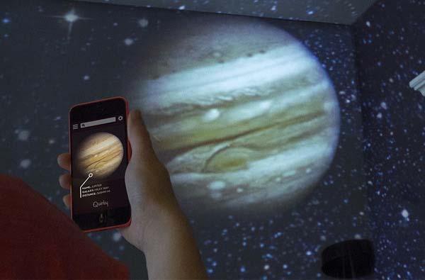 Luna AppEnabled Home Planetarium  Gadgetsin