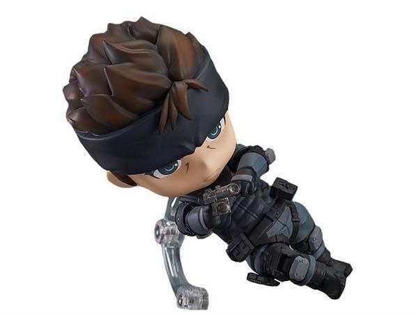 Solid Snake Nendoroid Action Figure  Gadgetsin
