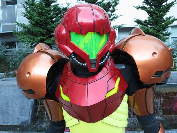 The Awesome 3D Printed Metroid Varia Suit Costume  Gadgetsin