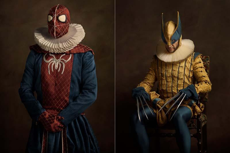 Awesome Flemish Superhero and Pop Culture Character