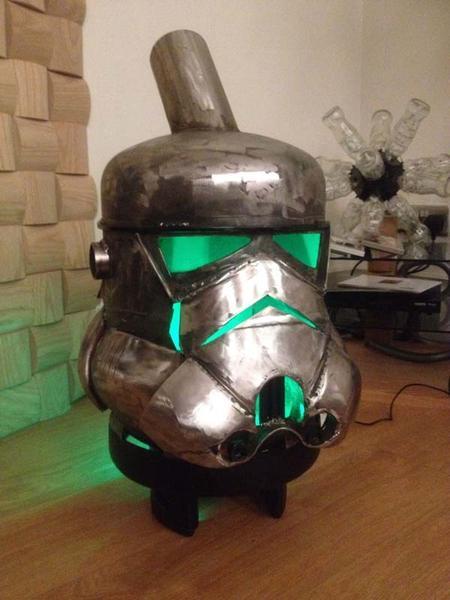 Star Wars Stormtrooper Inspired Log Burner  Gadgetsin