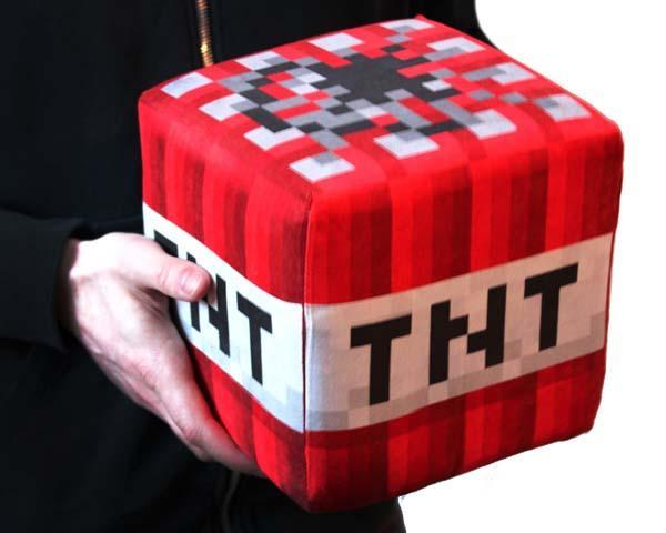 The Handmade Huge Plush Minecraft Blocks  Gadgetsin