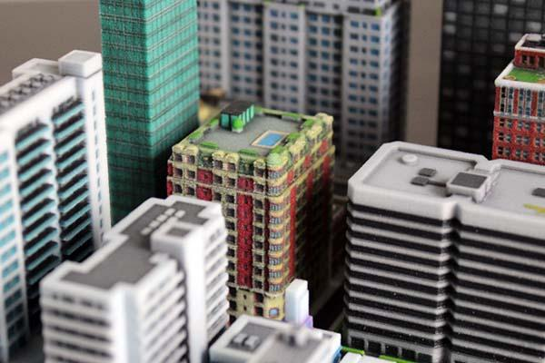 Build A Mini City by 3D Printing  Gadgetsin