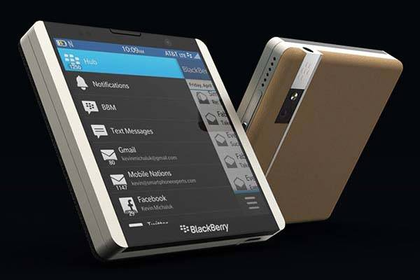 Concept BlackBerry L Smartphone with a Rotary Keyboard  Gadgetsin