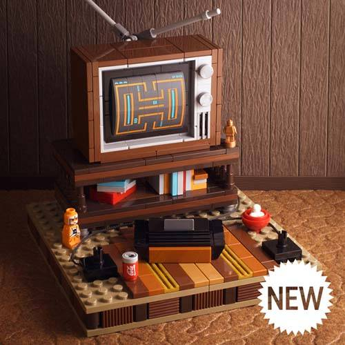 My Old Basement LEGO Set Lets You Build an OldSchool